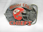 KANSAS CITY CHIEFS BELT BUCKLE - 1988 - LIMITED EDITION