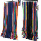 MENS RJM MULTI COLOURED STRIPED SCARFS GL345A