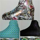 INTERMEZZO BRIGHT COTTON LYCRA/VELOUR ICE ROLLER SKATING BOOT COVERS MEDIUM SIZE