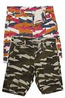 Mens Shorts by FLY53 Knee Length Casual Shorts Sizes 30 32 34 36 38 Hutton