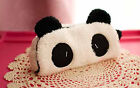 Panda Novelty Cute Student  Pencil Case Purse Wallet Cosmetic Pouch Bag Gift