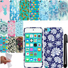 For Apple iPod Touch 5 6 TPU PATTERN SILICONE Rubber GEL Soft Case Cover + Pen