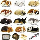 Perfect Petzzz ® Soft Fur Breathing Toy Dog Cat Panda Animated Real Life Like