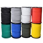 ELASTIC BUNGEE ROPE SHOCK CORD TIE DOWN WHITE BLACK COLOURED - ROOF TRAILER BOAT
