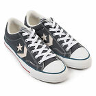 Converse Men's Star Player Ox Canvas Lace Up Trainer Castlerock Grey
