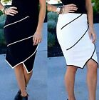 2015 NEW Vintage Women Bodycon High Waist Tight Fitted Skater Skirt Pencil Dress