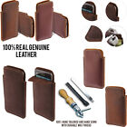 For Samsung Galaxy Grand Prime G530 Sleeve Genuine Leather POUCH Case + Pen