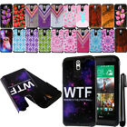 For HTC Desire 610 Shockproof HYBRID HARD SOFT Silicone BACK Case Cover + Pen
