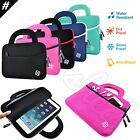 """Slim 7"""" 8"""" 9"""" Kids Android LeapFrog Tablet Sleeve Handle Carry Case Bag Cover"""