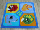CHILDRENS GIRLS BOYS MATS RUGS DINO MONSTERS CHINESE QUALITY KIDS PLAY MATS
