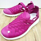 Wmns Nike Rosherun Woven 2.0 Magenta Womens Casual Shoes with tiny defect
