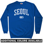 Seoul Korea Sweatshirt Crewneck - South Korean ROK Busan Incheon Daegu Men S-3XL