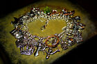 The Hobbit Lord of the Rings Inspired Charm Bracelet Regular or MEGA