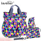 Fashion Baby Diaper Bag Multifunctional Nappy Bag Waterproof Mommy Changing Bag
