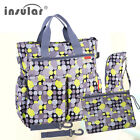 Fashion Baby Diaper Bag Multifunctional Nappy Bag Waterproof Mommy Changing Bags