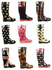 Ladies Horse Riding Outdoor Warm Rain Snow Country Winter Wellies Sizes 3-8