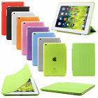 Smart Cover With Back Stand Case for Apple iPad 4 3 2 iPad mini Air Sleep Wake
