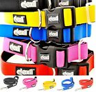 Strong Heavy Duty Neoprene S M L XL Padded Waterproof Collar Lead Leash