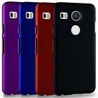 New Snap On Rubberized Hard case cover for LG Nexus 5X