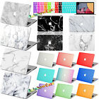 "3in1 laptop Painted Marble/Frosted Hard Case For Macbook Air Pro 11"" 12"" 13""15"