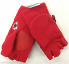 NFL Kansas City Chiefs Reebok Mens Fleece Convertible Fingerless Gloves/Mittens on eBay