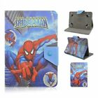 Kids Superhero Folio Leather Flip Stand Case Cover +Stylus For 7 Inch Tablet PC