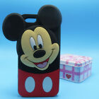 For iPhone 5 5S 5C 6 Plus 3D New Style Big wave point Minnie Silicone Case Cover