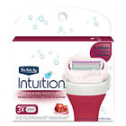 Schick Intuition Moisture Womens Razor Refill Cartridges 1, 3 , 6, 9, 12, or 15