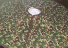 """Christmas Tree Skirts Camouflage Green or Pink Plush Holiday Style NWT 40"""" Round"""