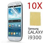 10 Pack X LCD Guard Screen Protector Film for Samsung i9300 Galaxy S3