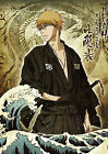 Bleach, Ichigo Kurosaki Anime Manga BIG Poster, Various sizes from A3 A4