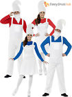 Adult Garden Gnome Dwarf Costume Smurf Men Ladies Couples Fancy Dress Retro