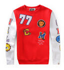 New Men's ape Gorilla head Sweater Cotton red  black Camo SleeveFrom Japan 3size