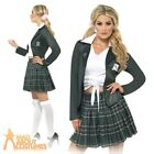 Adult Preppy School Girl Costume St Trinians Sexy Schoolgirl Fancy Dress Outfit