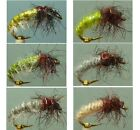 Artflies Caddis Larva Czech Nymph Flies ~ Choose Patterns, Sizes, and Qty ~