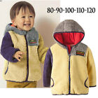 Boys Girls Kids Jacket / Coat - Fleece Outerwear (Hoods) 6M 1 2 3 4T New