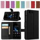 PU Leather Wallet Book Flip Phone Case Cover Stand For Doogee X5 / X5 Pro 5.0""