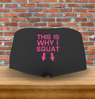 """this Is Why I Squat"" Funny Aerobics Workout Yoga Gift Womens Underwear Panties"