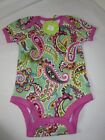 NEW Vera TUTTI FRUTTI Ruffle Bodysuit Baby Onsies 0-3 Months and 3-6 Months BOX