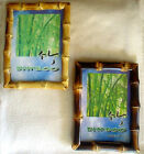 "Bamboo Root 5"" x 7"" Picture/Photo Frame-2 Color Choices"