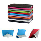 Transform Slim Magnetic Origami Leather Stand Smart Case Cover For Apple iPad