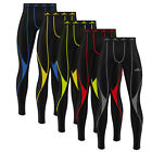 Mens Compression Tights Base Layer Running Gym Fitness Yoga Under Fit Trousers