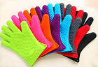 Kitchen Silicone Heat Resistant Oven Glove Pot Holder BBQ Baking Cook Mitts