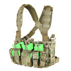 Condor Recon Chest Rig w/ Mag & Utility Pouches for MILSIM Airsoft Police MCR5