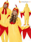 Adult Easter Chicken Costume Fancy Dress Outfit Spring Farm Bird Funny Stag Hen
