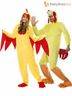 Adult Easter Chicken Onesie Fancy Dress Costume Spring Farm Bird Funny Outfit