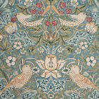 William Morris Strawberry Thief Slate Fabric Tablecloths