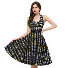 2016 S-XL VINTAGE Sexy Halter Retro 50s 70s Swing Pinup Wedding Dress