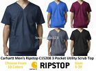 Carhartt Men's Ripstop 4 Pocket Utility Scrub Top C15208 Choose Size & Color