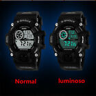 Men Military LED Stopwatch Multi-function Digital Sport Watch